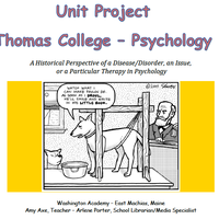 Thomas Psychology Unit Project