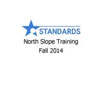 North Slope Training Fall 2014