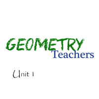 Geometry Unit 1 - Geometric Transformation