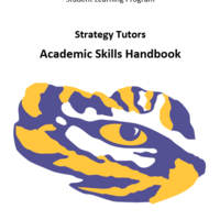 Session strategies and resources for Strategy Tutors