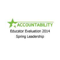 Educator Evaluation 2014 Spring Leadership