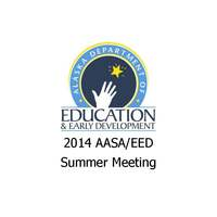 2014 AASA/EED Summer Meeting