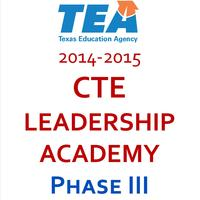 CTE Leadership Academy Summer 2015