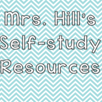 Mrs. Hill's Self-Study