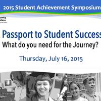 2015 Student Achievement Symposium - RSDSS Region 11, LACOE