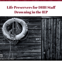 Life Preservers for DHH Staff
