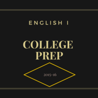 2015-16 English I College Prep