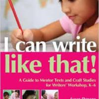 I Can Write Like That!
