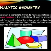 Analytic Geometry (9-12)