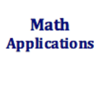 Math Applications Curriculum