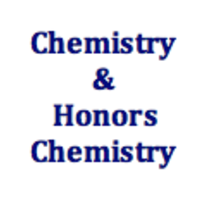 Chemistry & Chemistry Honors Curriculum