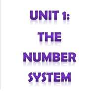 6th Grade Unit 1: The Number System