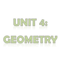 6th Grade Unit 4: Geometry