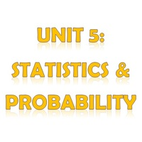 6th Grade Unit 5: Statistics & Probability