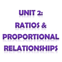 6th Grade Unit 2: Ratios and Proportional Relationships