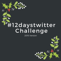 #12daystwitter 2015