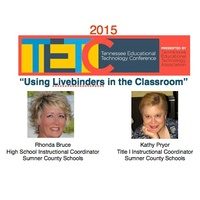 TETC 2015:  Using LiveBinders in the Classroom