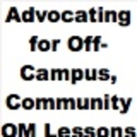 Advocating for Off-Campus, Community O&M Lessons