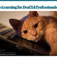 eLearning for DHH, VI, and DB Professionals