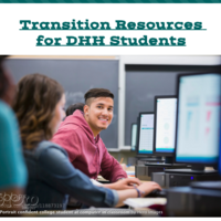 Transition Resources for DHH Students