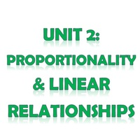 Pre Algebra Unit 2: Proportionality and Linear Relationships