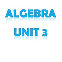 Algebra Unit 3