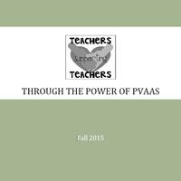 Teachers Supporting Teachers Through the Power of PVAAS