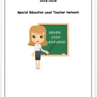 Special Education Lead Teacher Network