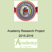 Coral Gables Senior High Academy of Finance Research Project 201