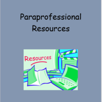 Paraprofessional Resources