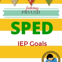 PBVUSD SPED IEP Goal Writing