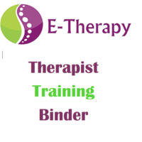 E-Therapy Training Binder -WFISD
