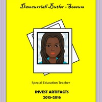 Damaurriah Butler's Invest 2015-2016