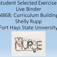NURS 868 Nursing Education: Curriculum Planning