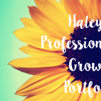 Haley's Professional Growth Portfolio