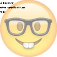 Computer Applications 2015-2016