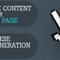 Optimize Content for your Landing Pages with these Lead Generati