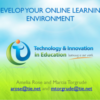 Develop Your Online Learning Environment