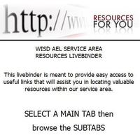 WISD AEL Service Area Resources Livebinder