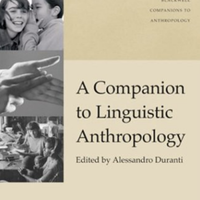 A Companion to Linguistic Anthropology - Duranti