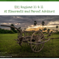 ESC 10/11 AI Itinerant & Parent Advisors