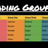 Wednesday Reciprocal Groups