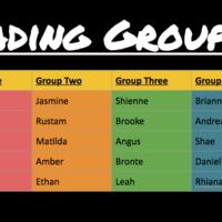 Wednesday Reciprocal Groups