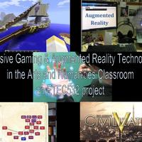 Info about integrating specific technology and games into Arts & Humanities classrooms. Topics include, augmented reality (Aurasma), immersive gaming (MinecraftEdu & Civilization 5), and Social Impact Games. A collaborative collection of information and resources created by colleagues in ETEC532 (University of British Columbia, Master in Educational Technology).