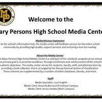Mary Persons High School Media Center