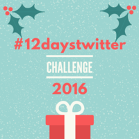 #12daystwitter 2016