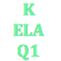 Kindergarten English Language Arts Q1Curriculum