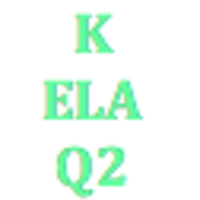Kindergarten English Language Arts Q2 Curriculum