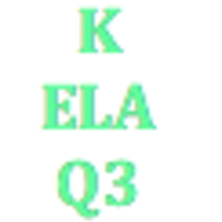 Kindergarten English Language Arts Q3 Curriculum
