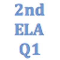 2nd Grade English Language Arts Q1 Curriculum